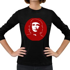 Chce Guevara, Che Chick Womens' Long Sleeve T-shirt (Dark Colored)