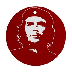 Chce Guevara, Che Chick Round Ornament (Two Sides)