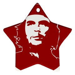 Chce Guevara, Che Chick Star Ornament (two Sides)