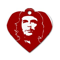 Chce Guevara, Che Chick Dog Tag Heart (one Sided)