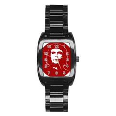 Chce Guevara, Che Chick Men s Stainless Steel Barrel Analog Watch