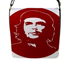 Chce Guevara, Che Chick Flap Closure Messenger Bag (large)