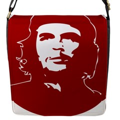 Chce Guevara, Che Chick Flap Closure Messenger Bag (small)