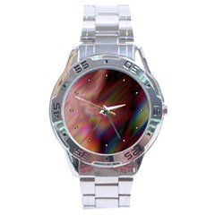 Prism Stainless Steel Watch (Men s)