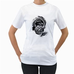 Thy Planet is Mine Womens  T-shirt (White)