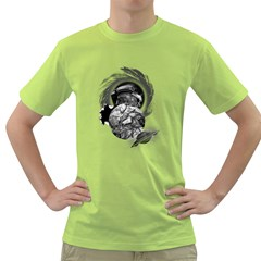 Thy Planet is Mine Mens  T-shirt (Green)