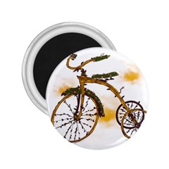 Tree Cycle 2 25  Button Magnet