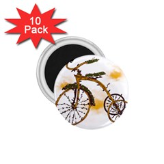 Tree Cycle 1 75  Button Magnet (10 Pack)