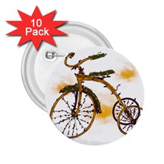 Tree Cycle 2 25  Button (10 Pack)