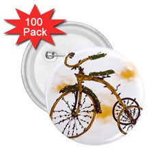 Tree Cycle 2.25  Button (100 pack)