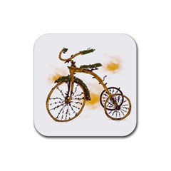 Tree Cycle Drink Coaster (Square)