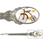 Tree Cycle Letter Opener Front