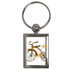 Tree Cycle Key Chain (Rectangle)