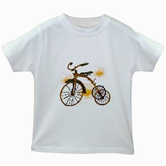 Tree Cycle Kids' T-shirt (White)
