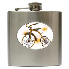 Tree Cycle Hip Flask