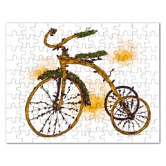 Tree Cycle Jigsaw Puzzle (Rectangle)
