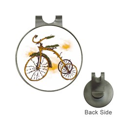 Tree Cycle Hat Clip with Golf Ball Marker