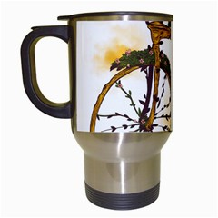 Tree Cycle Travel Mug (White)