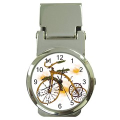 Tree Cycle Money Clip With Watch