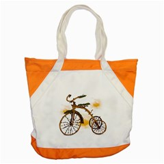 Tree Cycle Accent Tote Bag