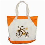 Tree Cycle Accent Tote Bag Front