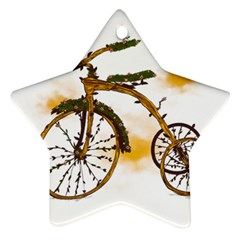 Tree Cycle Star Ornament (Two Sides)