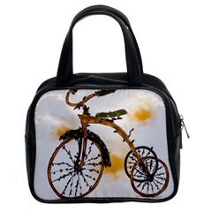 Tree Cycle Classic Handbag (Two Sides)