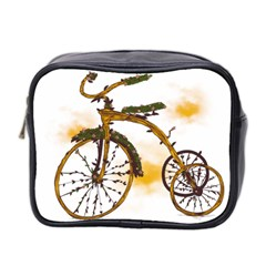 Tree Cycle Mini Travel Toiletry Bag (two Sides)