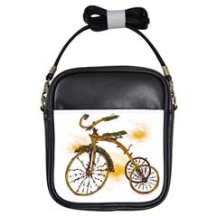 Tree Cycle Girl s Sling Bag