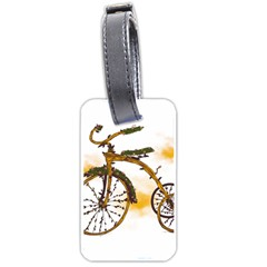 Tree Cycle Luggage Tag (two Sides)