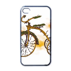 Tree Cycle Apple iPhone 4 Case (Black)