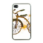 Tree Cycle Apple iPhone 4 Case (Clear) Front