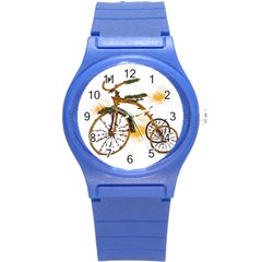 Tree Cycle Plastic Sport Watch (small)