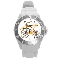 Tree Cycle Plastic Sport Watch (large)