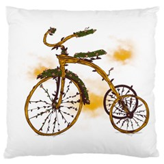 Tree Cycle Large Cushion Case (Two Sided)