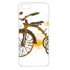 Tree Cycle Apple iPhone 5 Seamless Case (White)