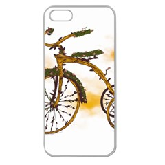 Tree Cycle Apple Seamless Iphone 5 Case (clear)