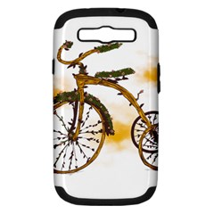 Tree Cycle Samsung Galaxy S III Hardshell Case (PC+Silicone)