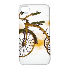 Tree Cycle Apple Iphone 4/4s Hardshell Case With Stand