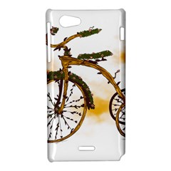 Tree Cycle Sony Xperia J Hardshell Case