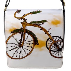 Tree Cycle Flap closure messenger bag (Small)