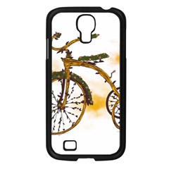 Tree Cycle Samsung Galaxy S4 I9500/ I9505 Case (Black)