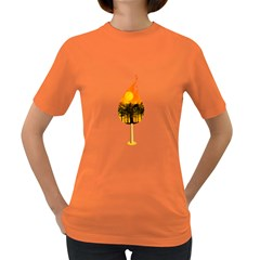 Deforestation Womens' T-shirt (Colored)