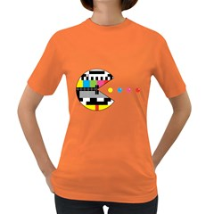 Color Eater Womens' T Shirt (colored)
