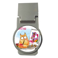 Picatso by PookieCat Money Clip (Round)