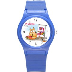 Picatso By Pookiecat Plastic Sport Watch (small)