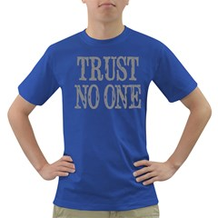 trust no one Mens' T-shirt (Colored)