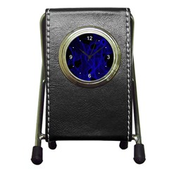 Electric Pen Holder Desk Clock