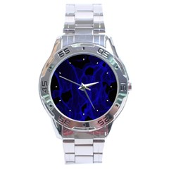 Electric Stainless Steel Analogue Men's Watch