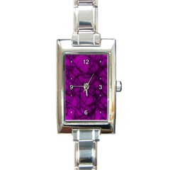 Tangled Rectangular Italian Charm Watch